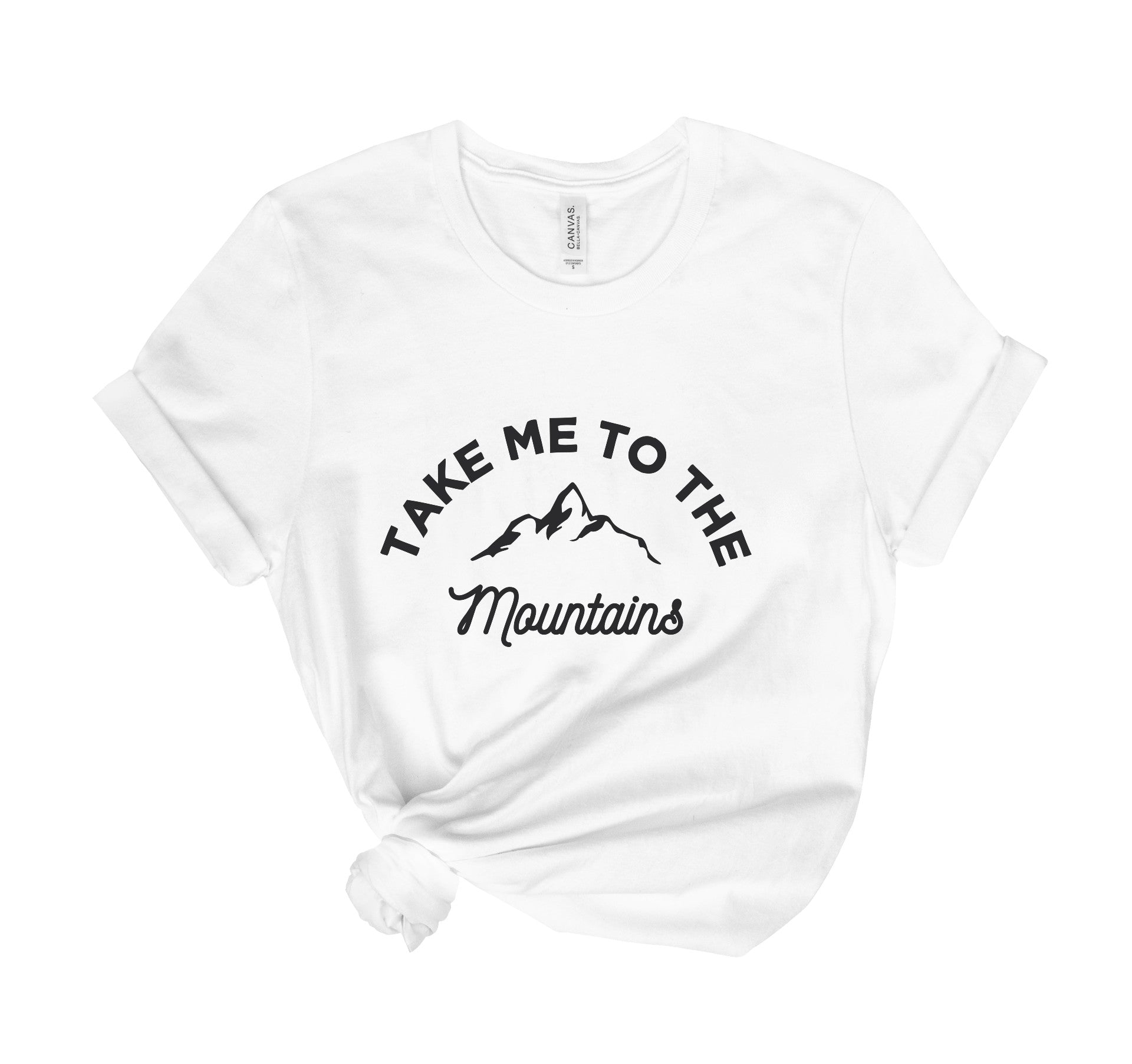 Take Me To The Mountains Tee Shirt