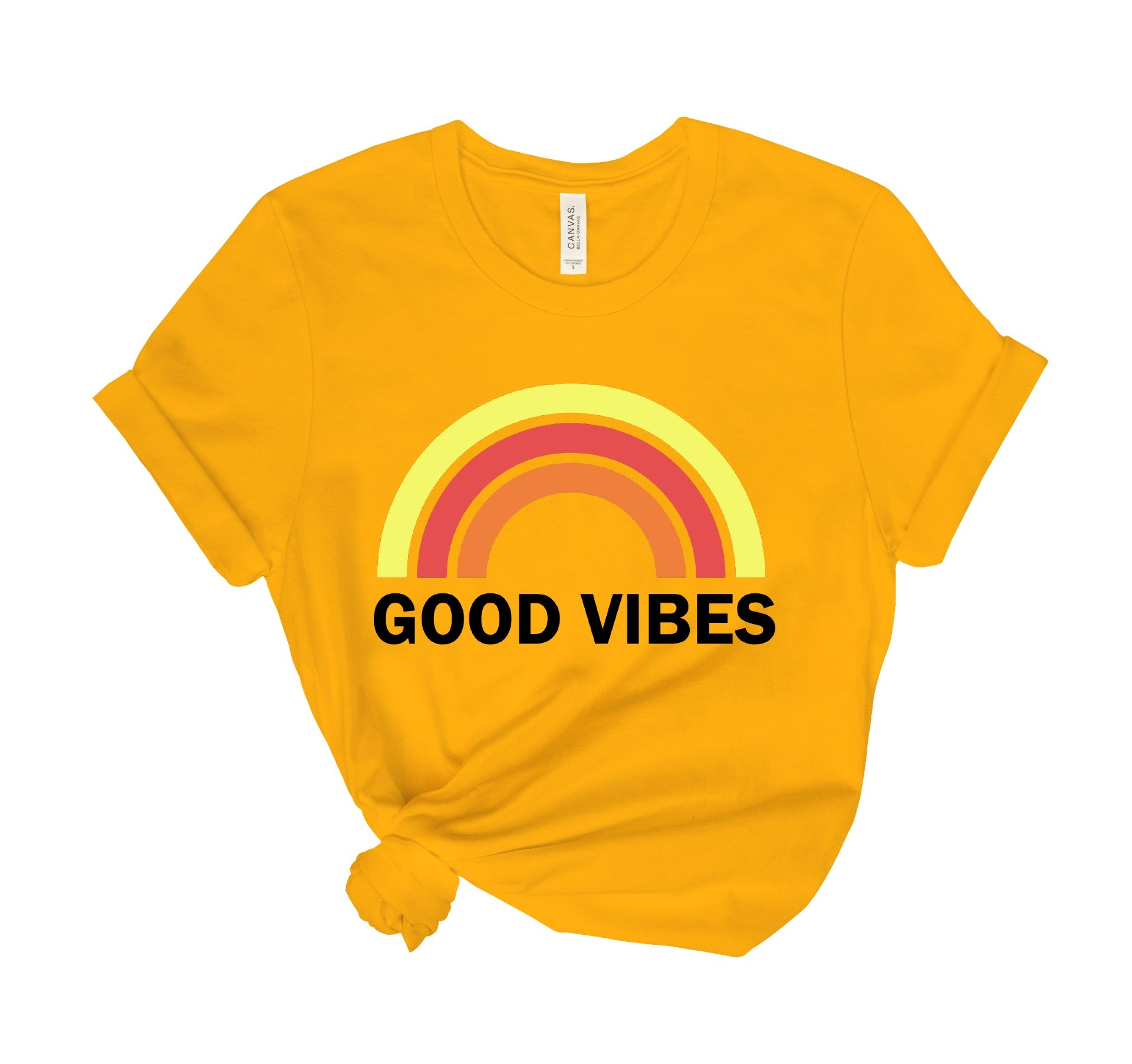 Good Vibes Non Distressed Tee Shirt