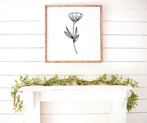 Spring flower downloadable print