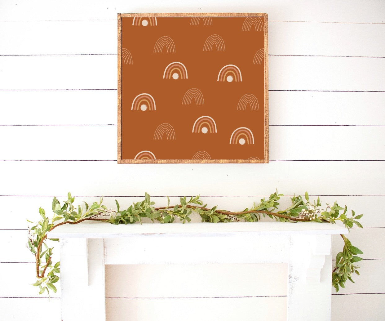 Boho Patterns Modern Farmhouse Wooden Sign