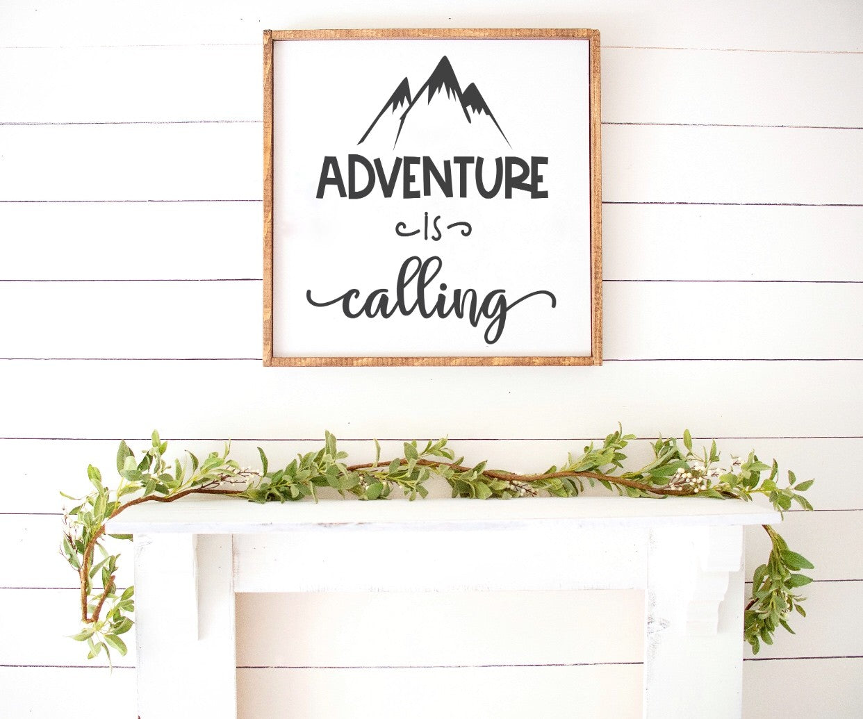 Adventure Is Calling Farmhouse Wooden Sign 25% OFF