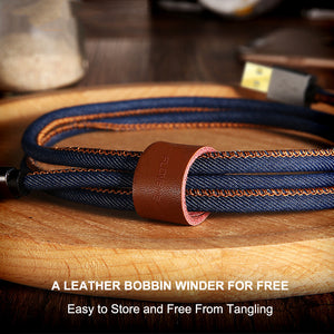 FAST CHARGE DENIM iPHONE USB CABLE