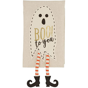 Ghost Dangle Leg Towel (Boo)