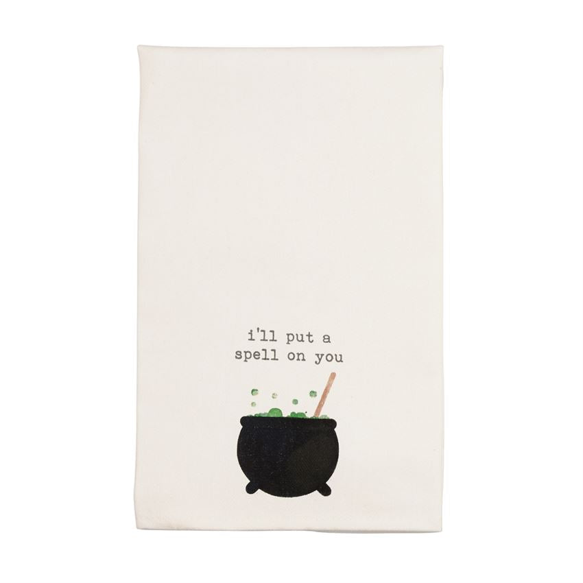 Cauldron Icon Hand Towel