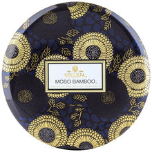 Load image into Gallery viewer, 3 Wick Tin Candle (Moso Bamboo)