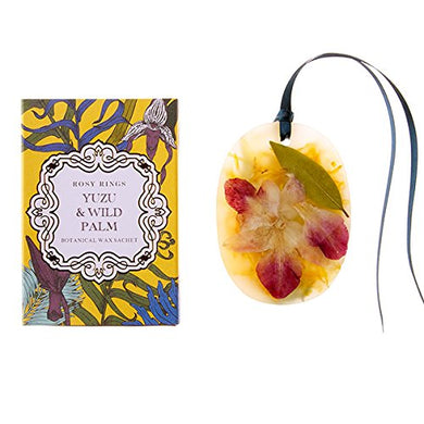 Yuzu & Wild Palm Wax Sachet