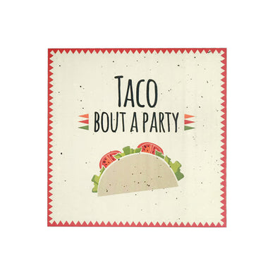 Taco Bout A Party Luncheon Napkins
