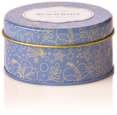 Beach Daisy Travel Tin