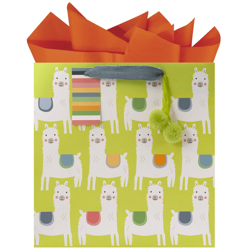 Little Llamas Medium Gift Bag