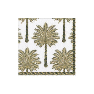 Grand Palms Black Boxed Cocktail Napkins