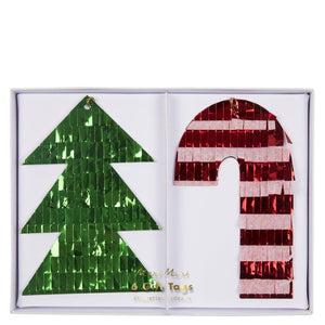 Festive Fringed Gift Tags