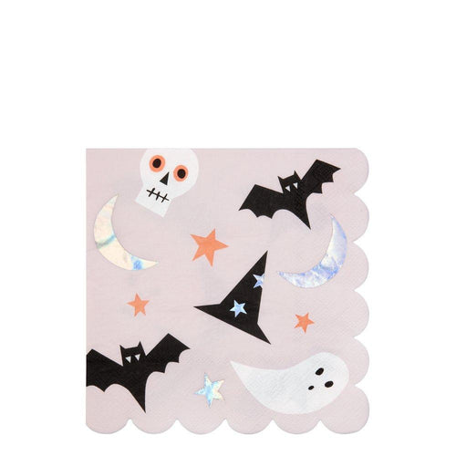 Halloween Fun Large Napkin