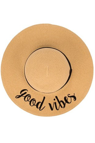 Good Vibes Sun Hat