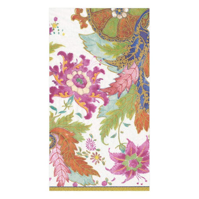 Tobacco Leaf Ivory Guest Towel