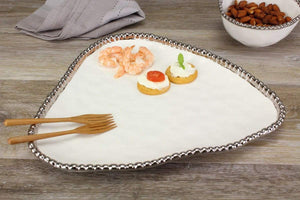Salerno Triangular Serving Plate
