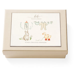 Baby Note Card Box