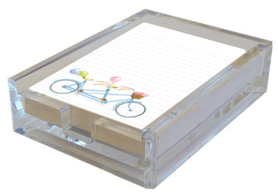 Bicycle Built For Two in Acrylic Boxed Lined Notes