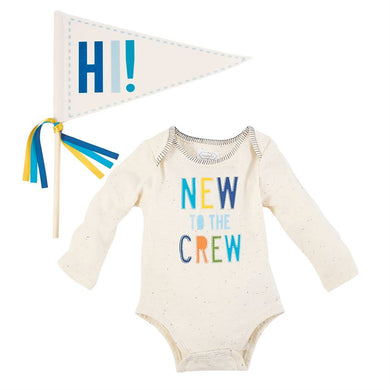 New To The Crew Boy's Two Piece Set