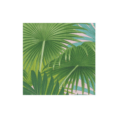 Palm Fronds Sunset Boxed Cocktail Napkins