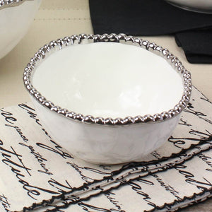 Salerno Small White Bowl