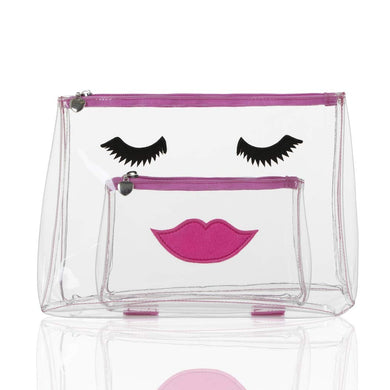 Pink Lady Wash Bag and Make Up Set