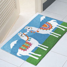Load image into Gallery viewer, Tasseled Llamas Indoor/Outdoor Rug