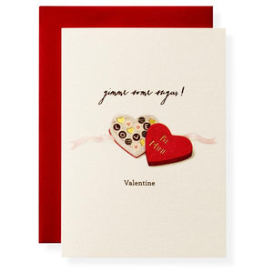 Sugar Valentine's Day Card