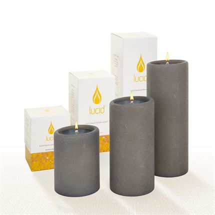 Gray Lucid Candle