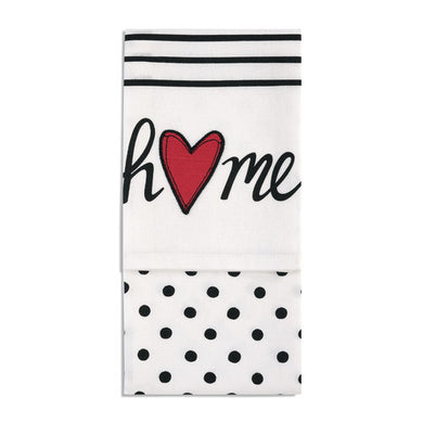 Home Heart Tea Towel