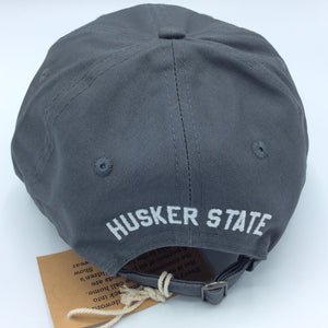 402 (Code)Word Grey Baseball Cap