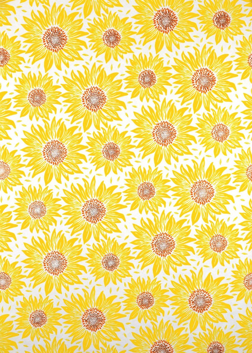 Sunflower Gift Wrap