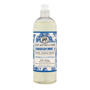 Indigo Cotton Dish Soap