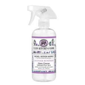 Lavender Rosemary Glass Cleaner