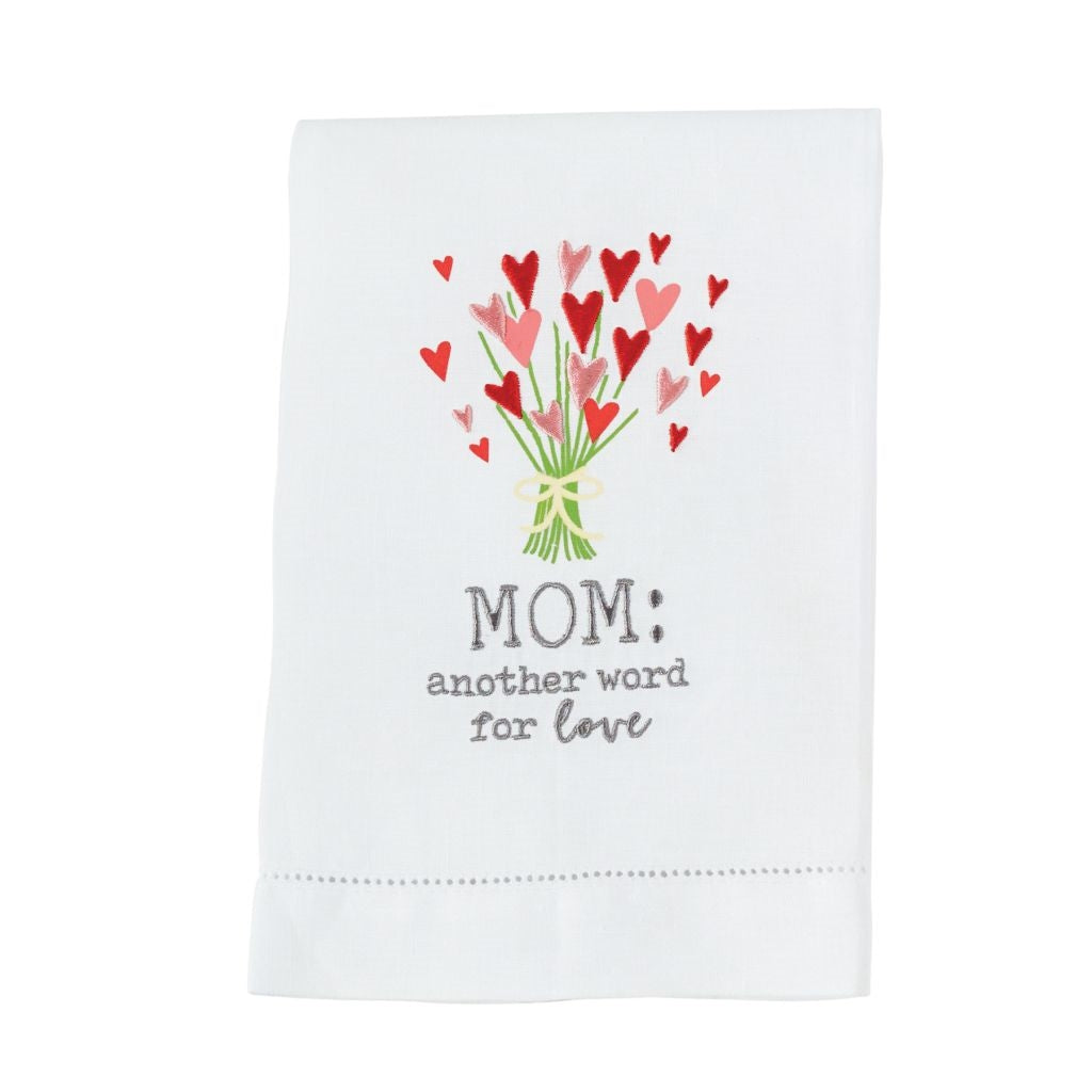 Mom: Another Word for Love Tea Towel