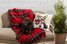Load image into Gallery viewer, Christmas Dog Pillow