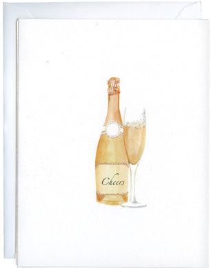 Pink Champagne Boxed Note Cards