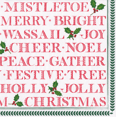Yuletide Lunch Napkins