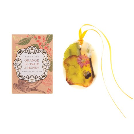 Orange Blossom & Honey Wax Sachet