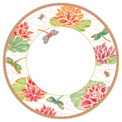 Jeweld Pond Salad Plate