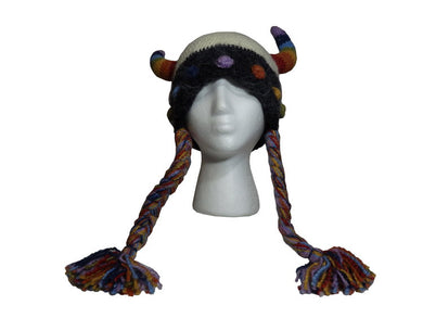 Rainbow Viking Hat