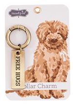 Load image into Gallery viewer, Dog Collar Charm (Free Hugs)