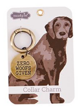 Load image into Gallery viewer, Dog Collar Charm (Zero Woofs Given)