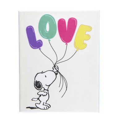 Peanuts Love Balloon Boxed Cards