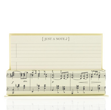 Vintage Musical Note Flat Notes