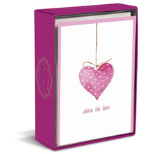 Simply Charmed Heart Boxed Cards