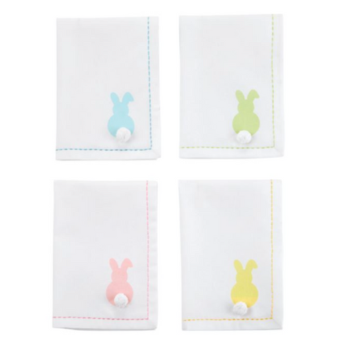 Cotton Bunny Dinner Napkin Set