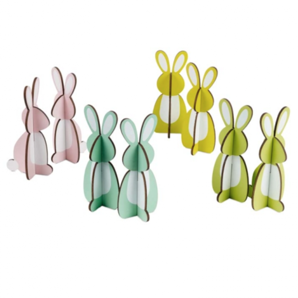 Easterly Bunnies Set of 8