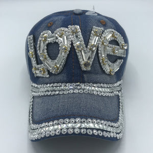 "Bling ""Love"" Ball Cap"