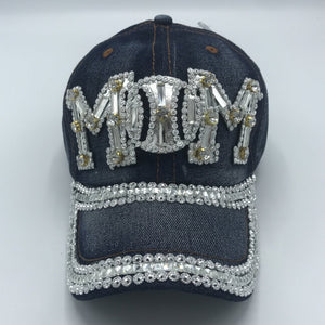 "Bling ""Mom"" Ball Cap"