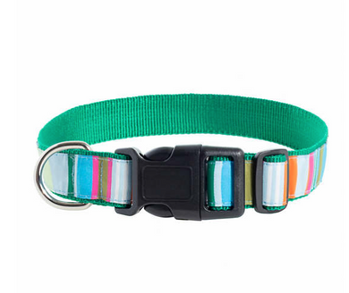 Mellie Stripe Dog Collar Medium/Large